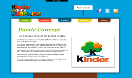 Kinder adulte surprise