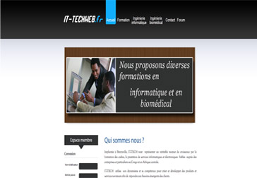Développement du site it-techweb